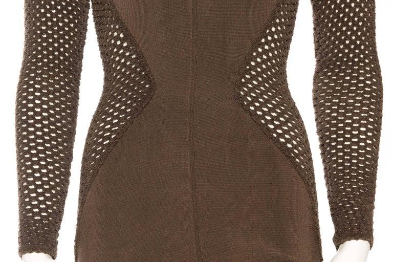 Sheer Net Alaia Dress For Sale 4