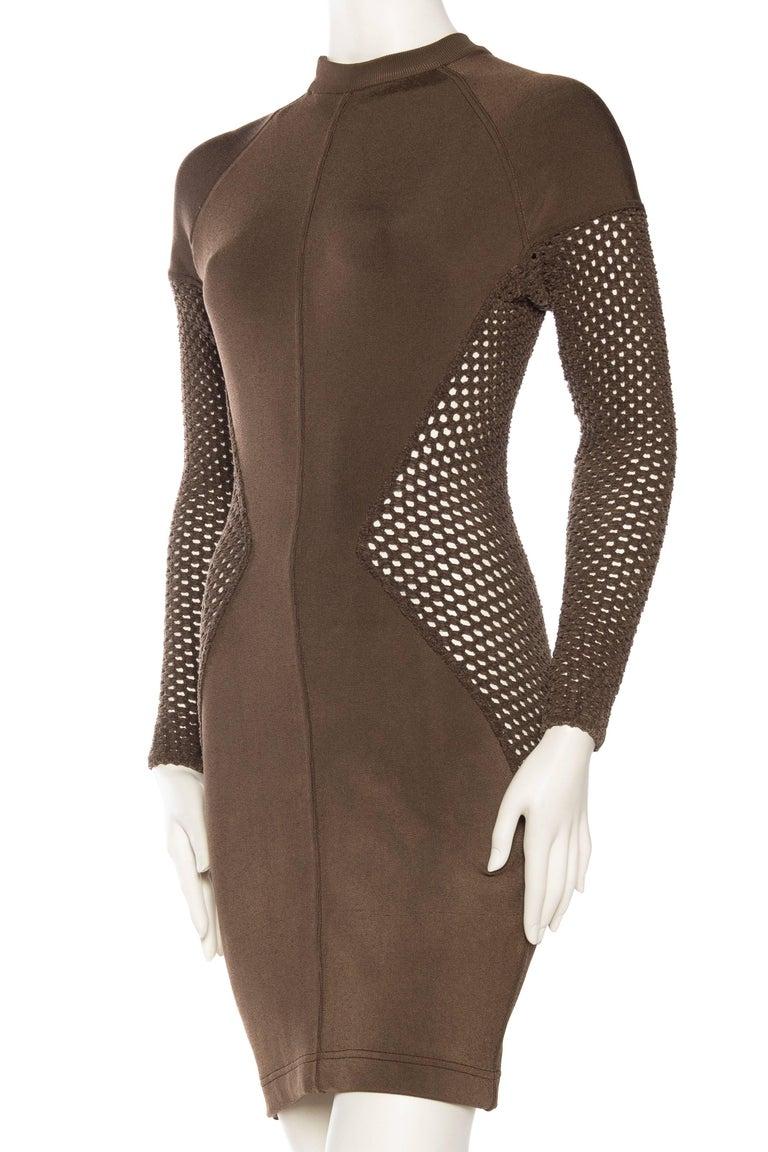 Sheer Net Alaia Dress For Sale 1
