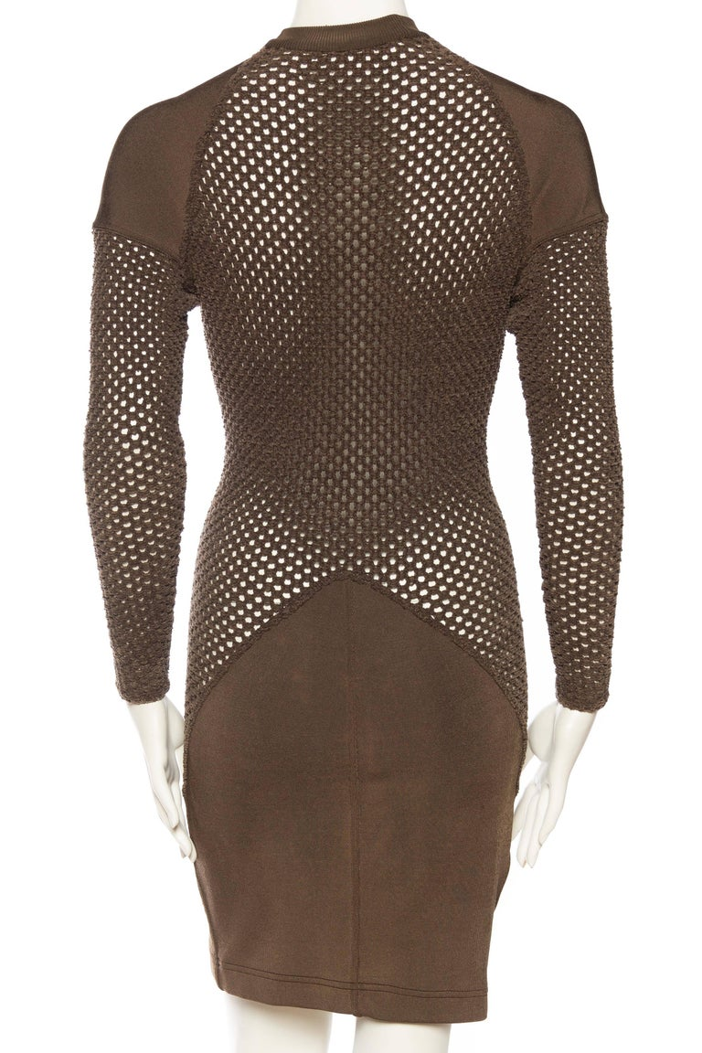 Sheer Net Alaia Dress For Sale 2