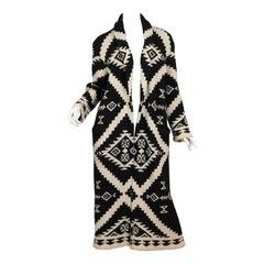 Ralph Lauren Hand-Knit Maxi-Sweater