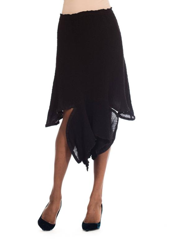 Asymmetrical Deconstructivist skirt from me by Issey Miyake 2