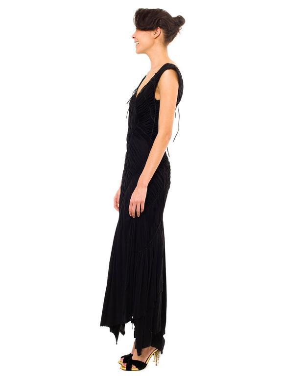 Issey Miyake Goth Jersey Gown 3