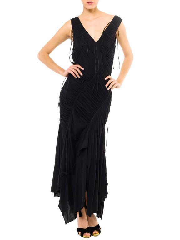 Issey Miyake Goth Jersey Gown 2