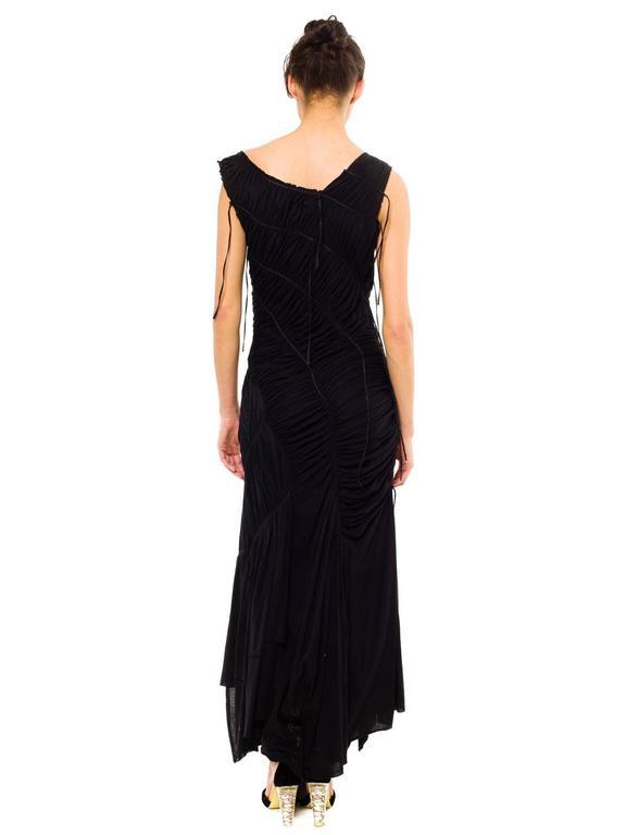 Issey Miyake Goth Jersey Gown 4