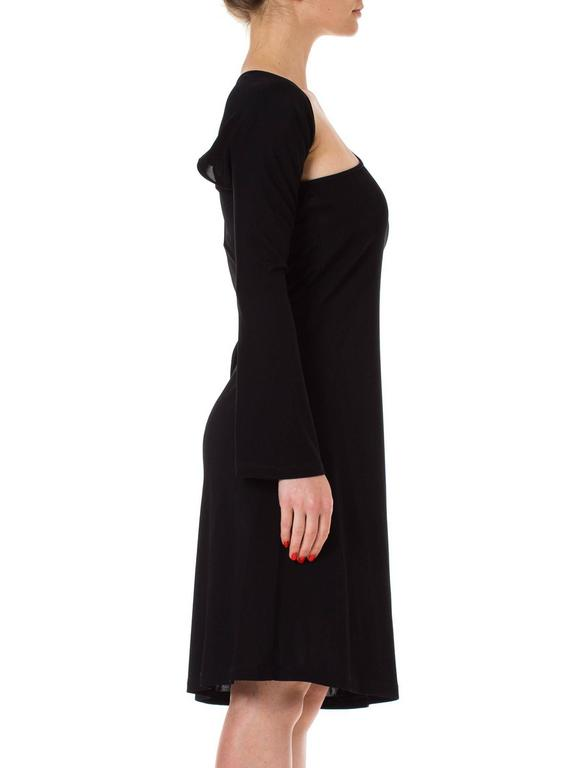 Jean Paul Gaultier Wraparound Sleeve Dress In Excellent Condition For Sale In New York, NY