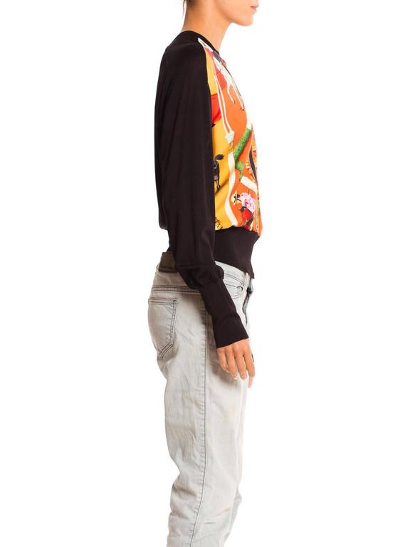 Hermès Matador Scarf Print Pullover For Sale 1