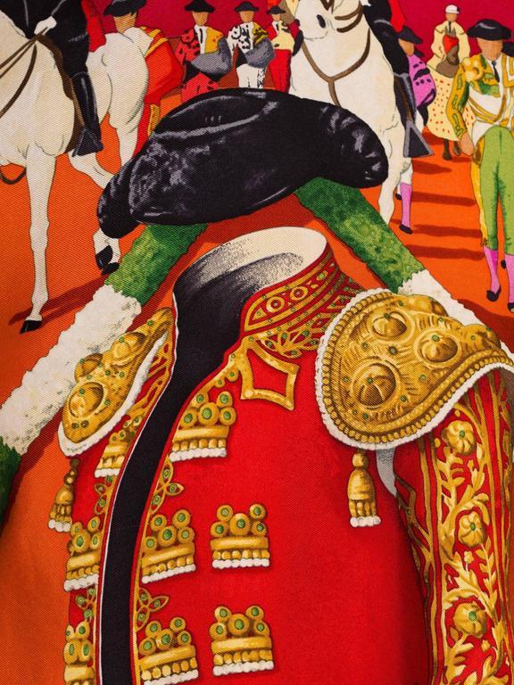 Hermès Matador Scarf Print Pullover For Sale 3