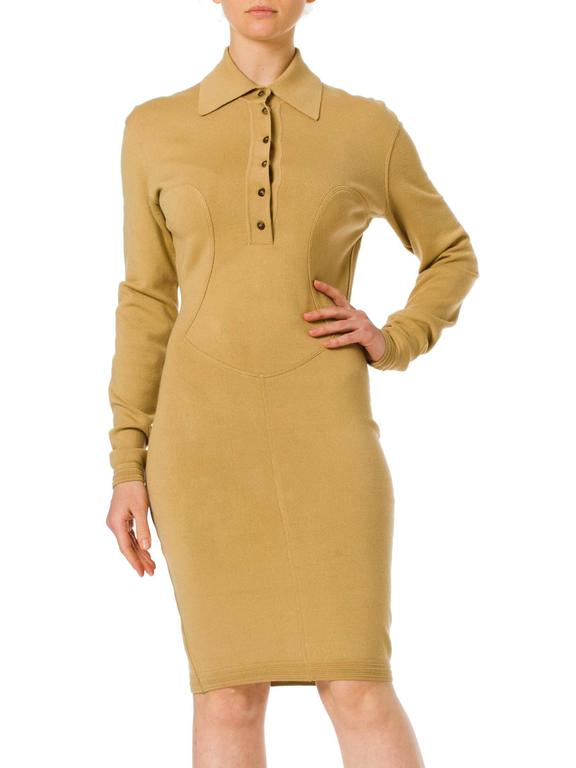 Brown Alaia Dress For Sale