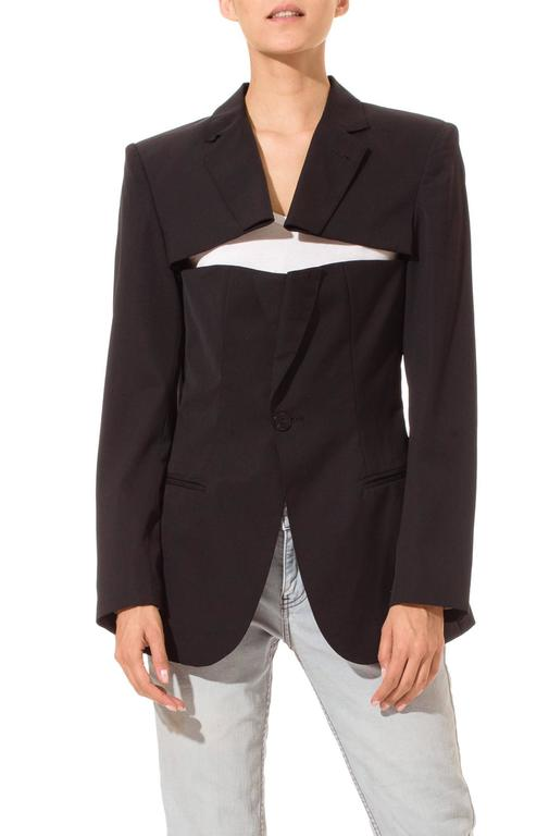 Jean Paul Gaultier Slashed Blazer 2