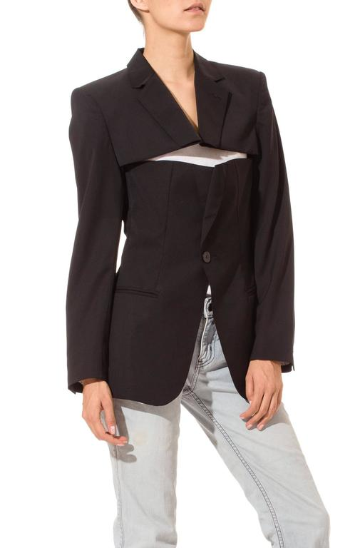 Jean Paul Gaultier Slashed Blazer 3