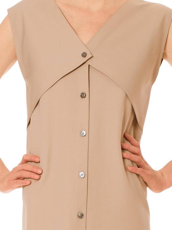 Minimalist Geoffrey Beene Dress For Sale 3
