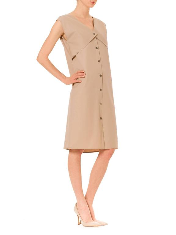 Minimalist Geoffrey Beene Dress In Excellent Condition For Sale In New York, NY