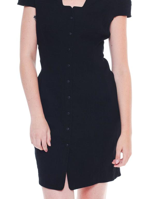 Mugler by Thierry Mugler Cotton LBD For Sale 2
