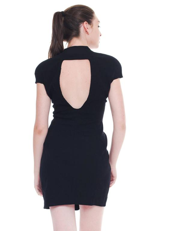 Women's Mugler by Thierry Mugler Cotton LBD For Sale