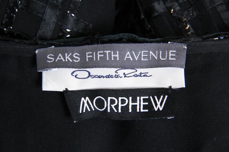 Sheer Oscar De LaRenta Embellished Jacket For Sale 4