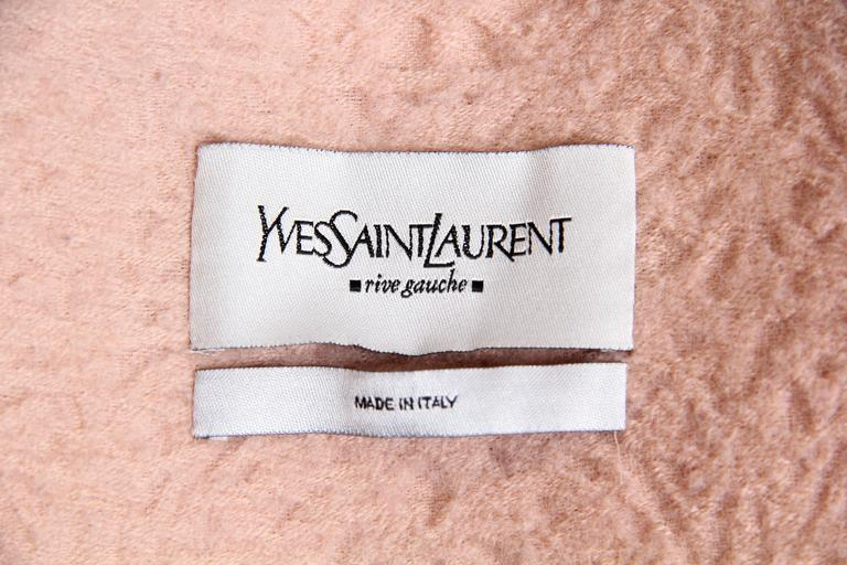 Tom Ford for Yves Saint Laurent Pink Wool Jacket 10