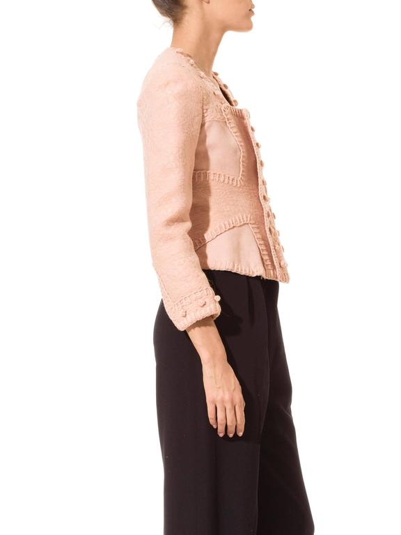 Women's Tom Ford for Yves Saint Laurent Pink Wool Jacket For Sale