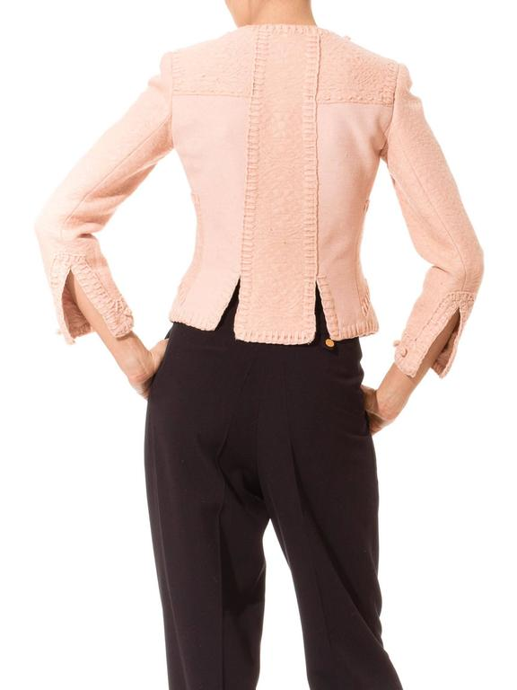 Tom Ford for Yves Saint Laurent Pink Wool Jacket 6