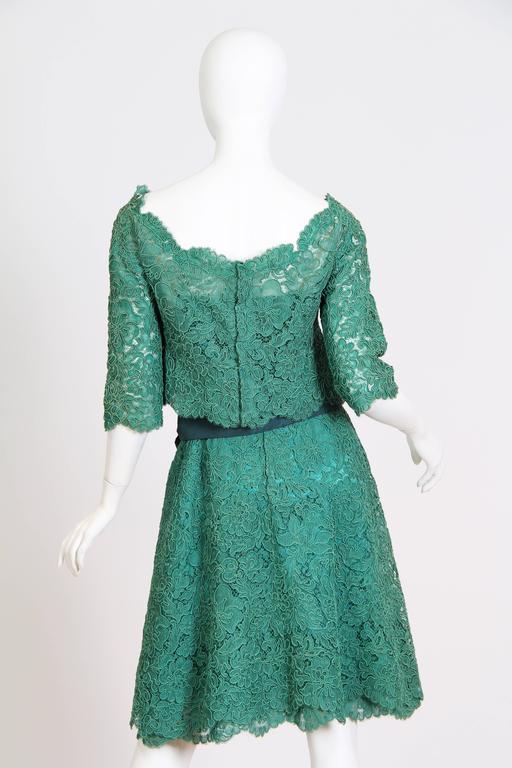 1950/60s Christian Dior New York Lace Dress 4
