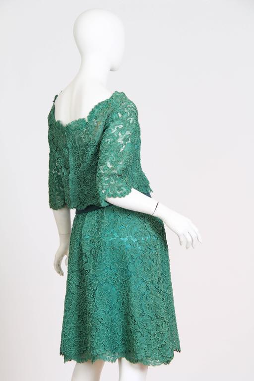 1950/60s Christian Dior New York Lace Dress 3