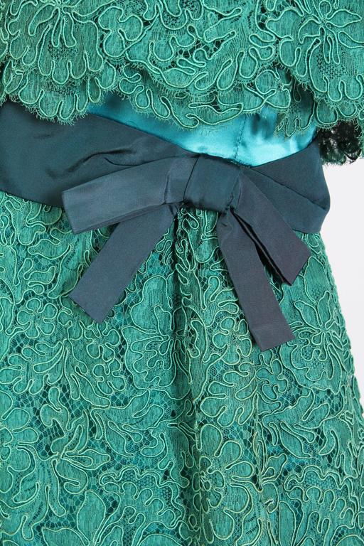 1950/60s Christian Dior New York Lace Dress 5