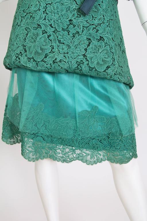 1950/60s Christian Dior New York Lace Dress 6