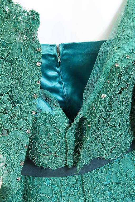 1950/60s Christian Dior New York Lace Dress 7