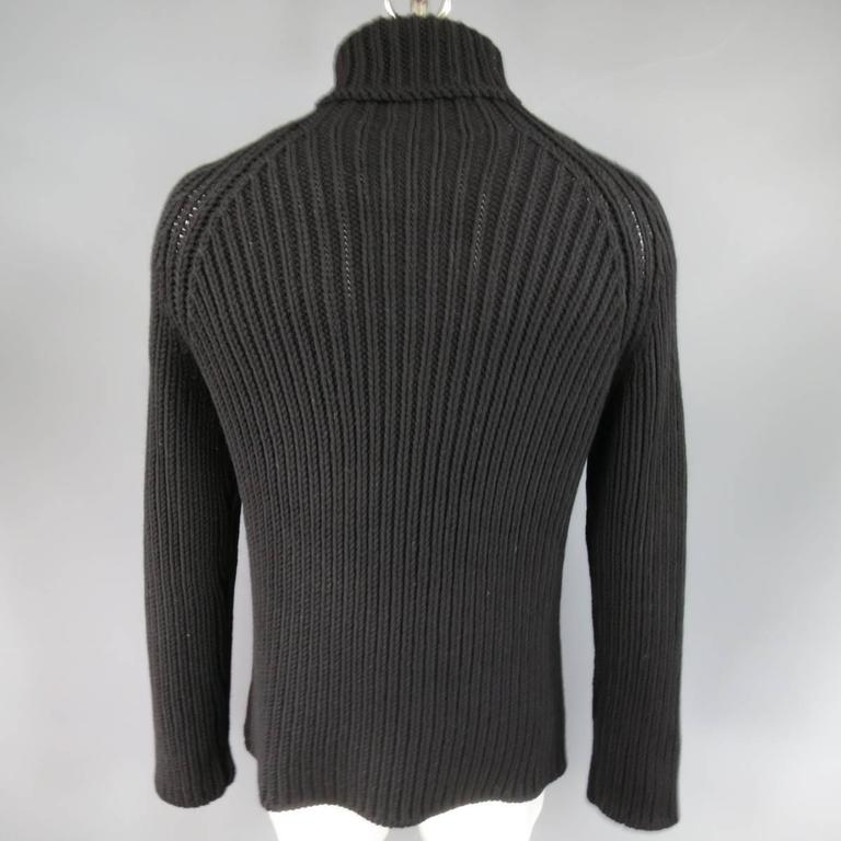 Any men's sweater will do, but we recommended having a mix of different fabrics and cuts. A crewneck is the traditional shape (and it's perfect for an occasion), while mock neck sweaters or .