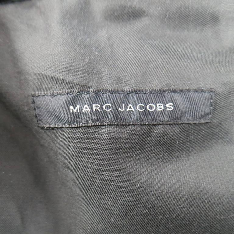 MARC JACOBS Taupe Brown Beaver Fur & Leather Backpack 8