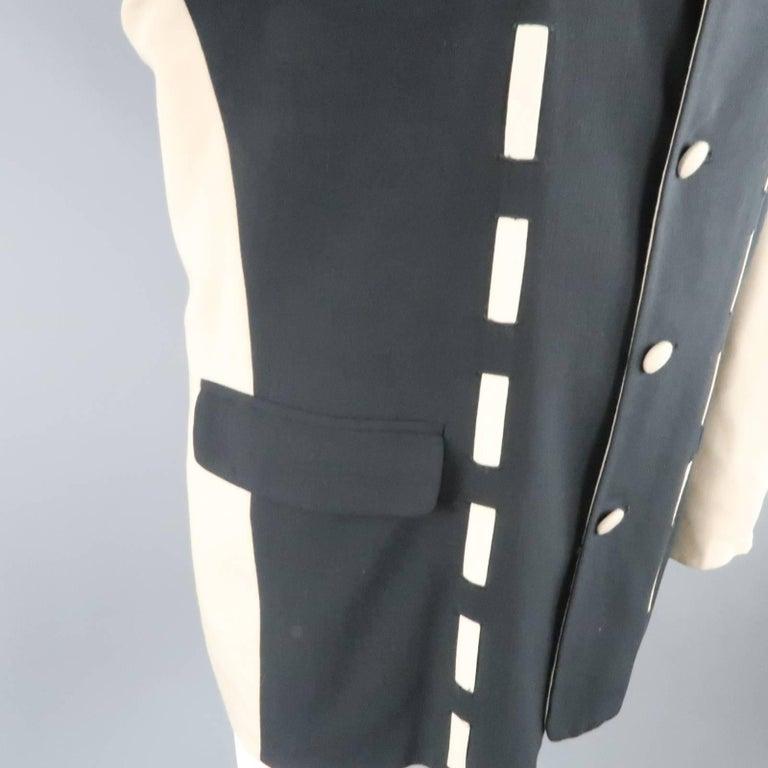 men 39 s vintage guide pour homme 44 black and beige color. Black Bedroom Furniture Sets. Home Design Ideas