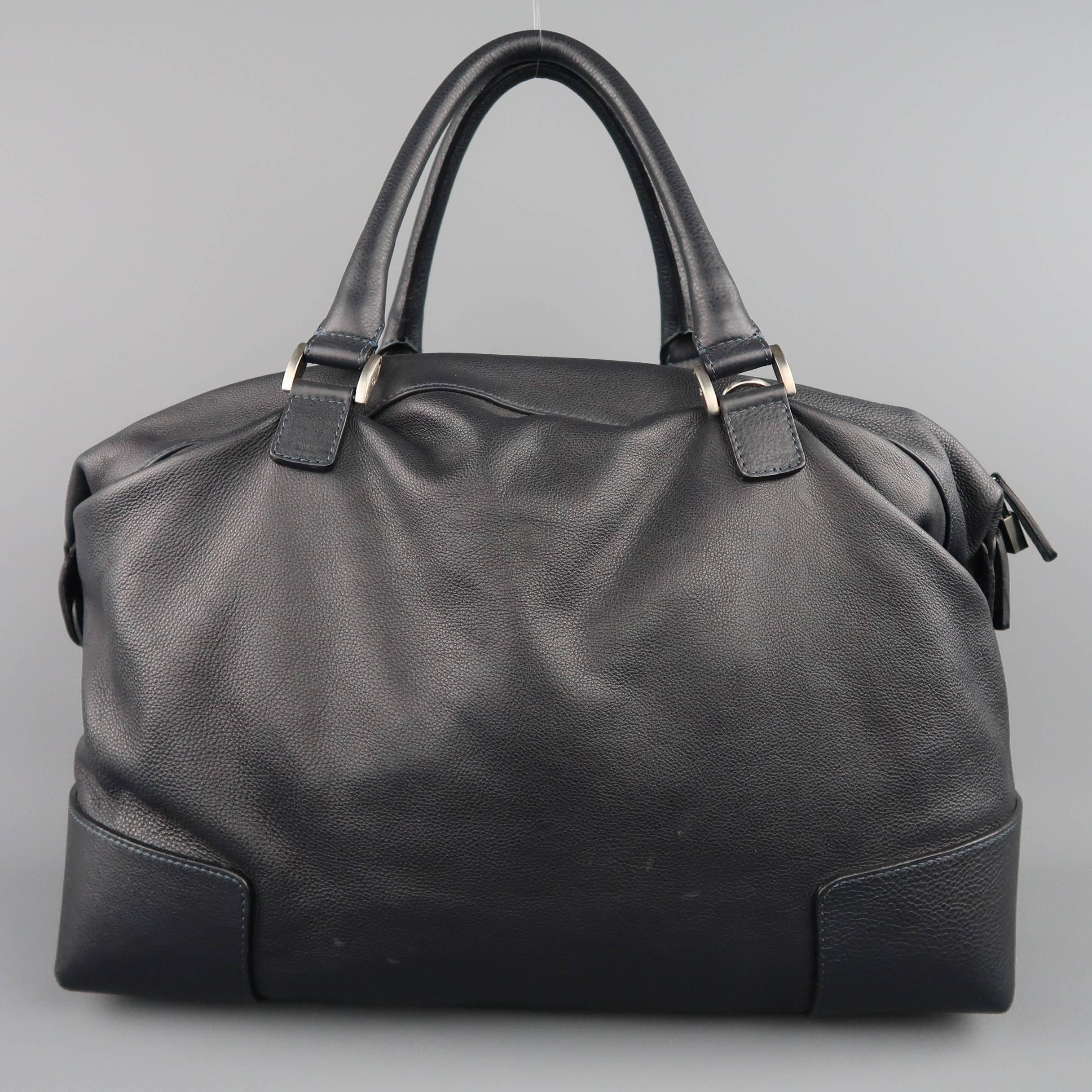 9b5d1039e1d6 Giorgio Armani Navy Leather Carry-On Bags and Leather Goods at 1stdibs