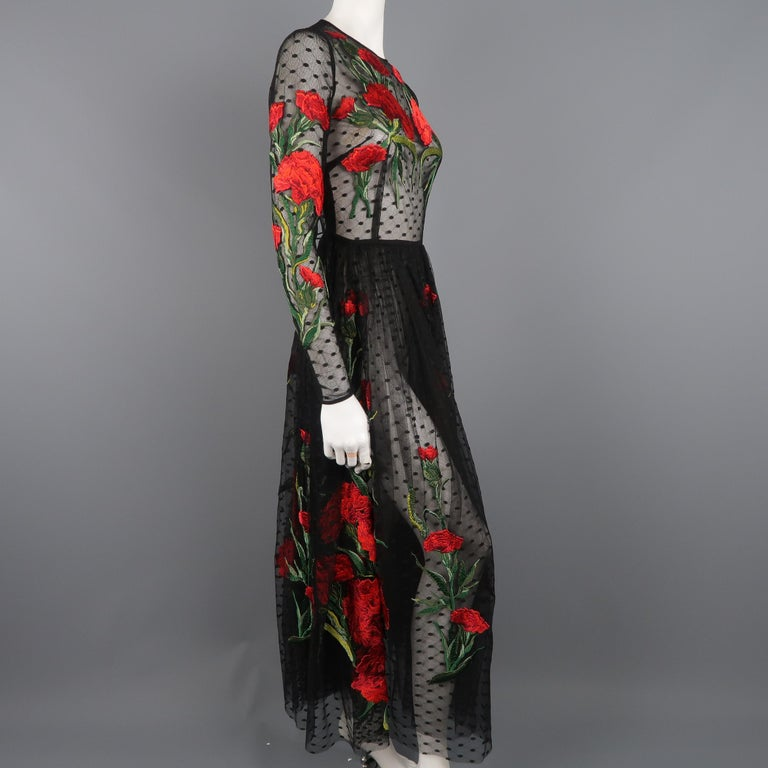 Dolce & Gabbana Runway Gown Dress, Spring 2015  For Sale 3