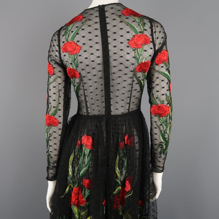 Dolce & Gabbana Runway Gown Dress, Spring 2015  For Sale 6