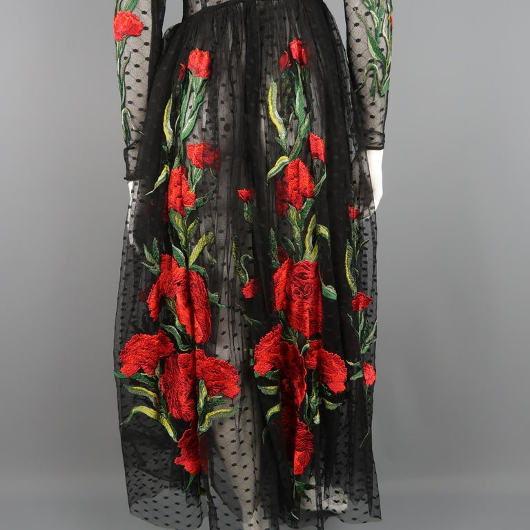 Dolce & Gabbana Runway Gown Dress, Spring 2015  For Sale 7