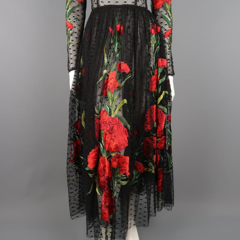 Dolce & Gabbana Runway Gown Dress, Spring 2015  For Sale 1