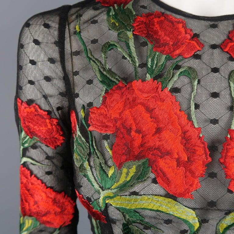 Women's Dolce & Gabbana Runway Gown Dress, Spring 2015  For Sale