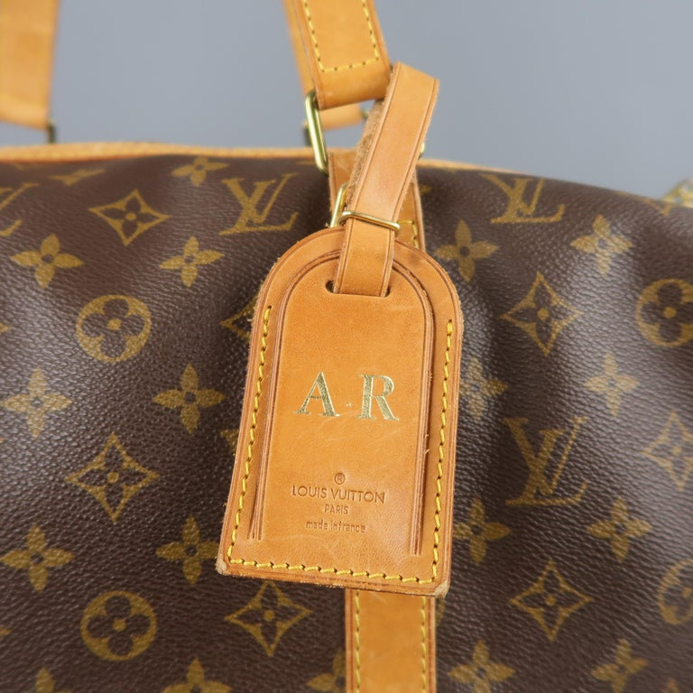 LOUIS VUITTON Brown Monogram Canvas SAC SOUPLE 45 Travel Bag 2