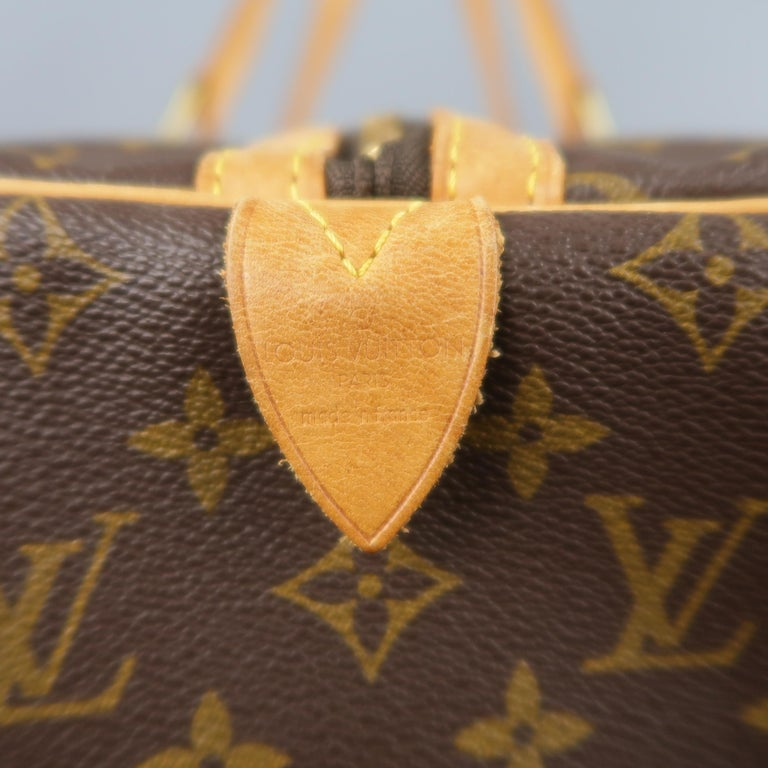 LOUIS VUITTON Brown Monogram Canvas SAC SOUPLE 45 Travel Bag 3