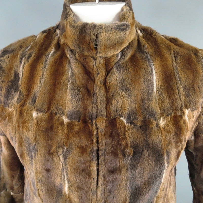 Prada 38 Squirrel Fur Zip Jacket At 1stdibs