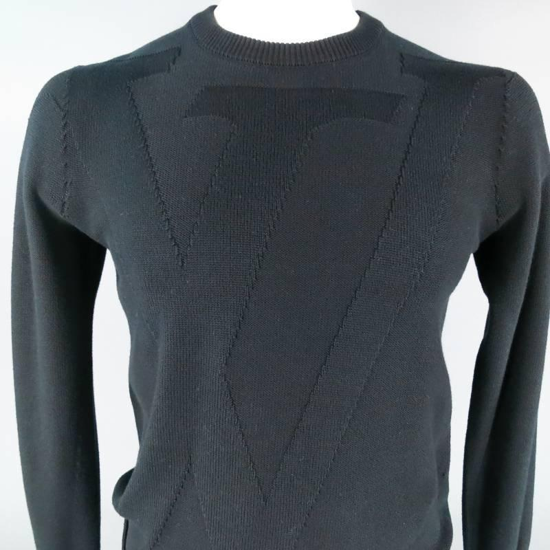 louis vuitton size s black cotton lv embossed logo. Black Bedroom Furniture Sets. Home Design Ideas