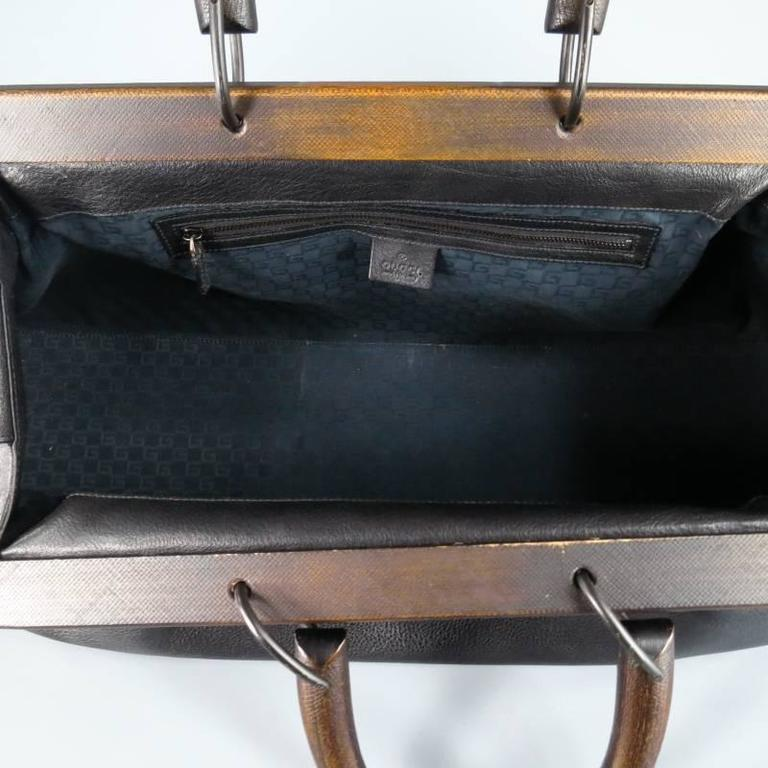 Ultra chic GUCCI doctor s satchel by TOM FORD. This rare style from  Fall winter 59a31ffadc