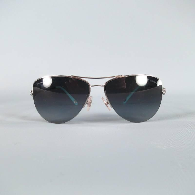 ce6d92eba228 Tiffany Locks Aviator Sunglasses Silver « Heritage Malta