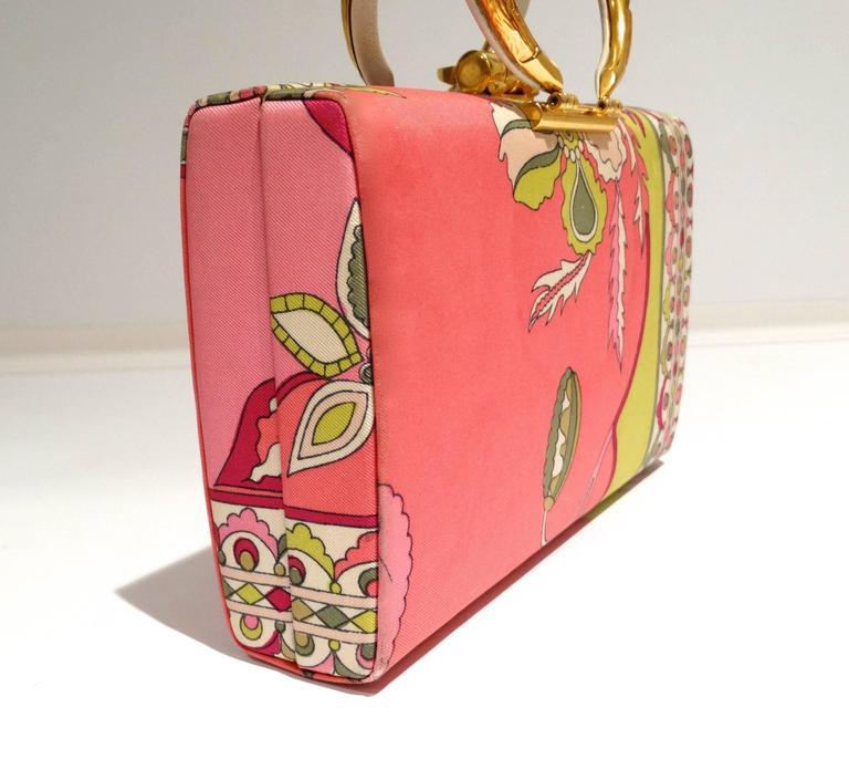 1960s Emilio Pucci Box Handbag 5