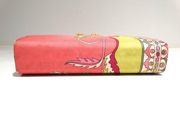1960s Emilio Pucci Box Handbag 6