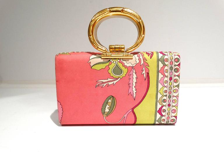 1960s Emilio Pucci Box Handbag 3