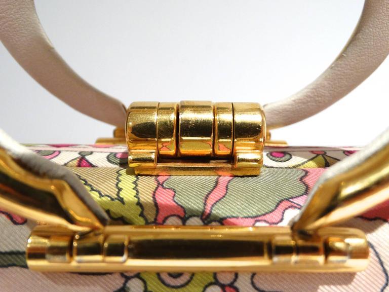 1960s Emilio Pucci Box Handbag 8