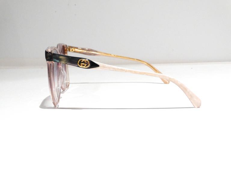 Rare 1970s Mother of Pearl Gucci Sunglasses  4