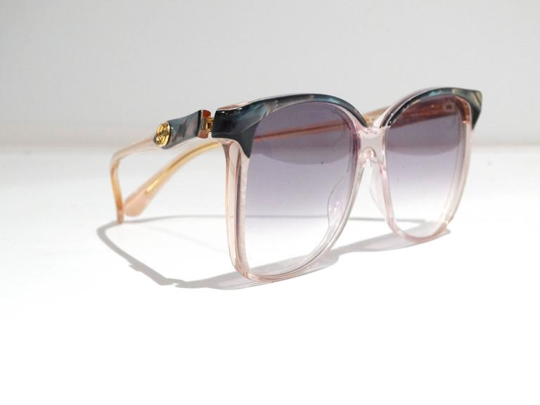 87df91b51d5 Rare 1970s Mother of Pearl Gucci Sunglasses at 1stdibs