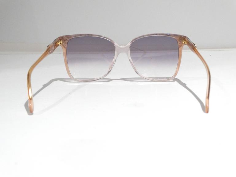 Rare 1970s Mother of Pearl Gucci Sunglasses  7