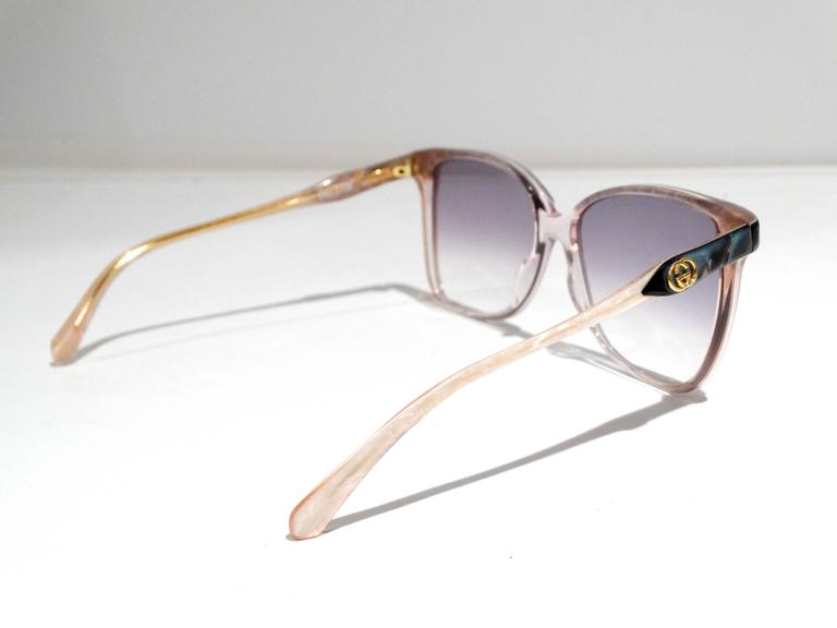 75b590cbae4 Rare 1970s Mother of Pearl Gucci Sunglasses For Sale at 1stdibs